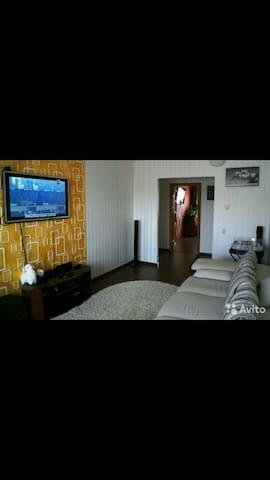 Уютная квартира с  видом на реку - Хабаровск - Pis