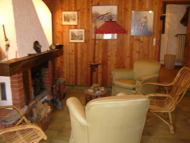 A Rivarossa vicino Caselle casetta accogliente - Rivarossa - Casa