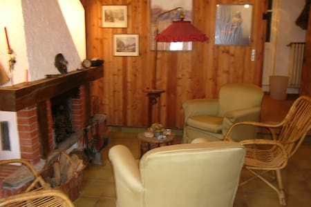 A Rivarossa vicino Caselle casetta accogliente - Rivarossa - Haus