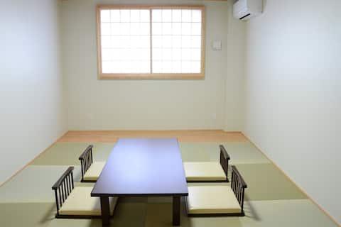 Beppu hostel U&T 역세권!일본식룸2~3인용객실 駅近!駐車場無料!