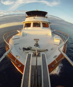 BIG 73' YACHT - 2 bed guest room - Sandys - ボート