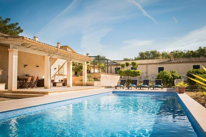 Magnífica villa en el corazón de Mallorca