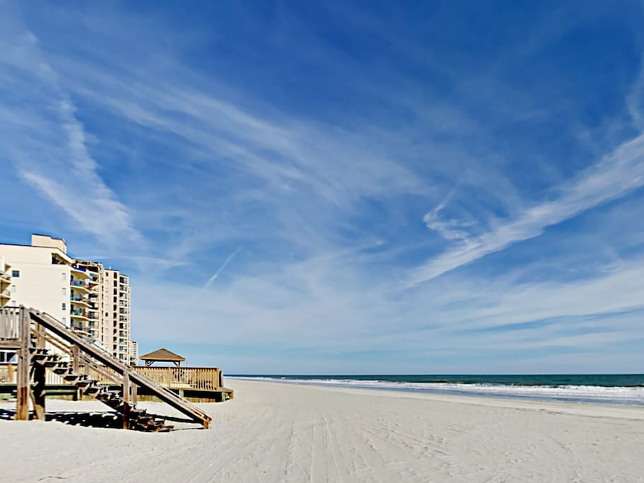 Welcome to Murrells Inlet! This beachfront condo is professionally managed by TurnKey Vacation Rentals.