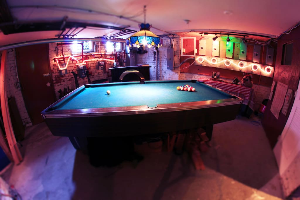 Pool Room  *Common Space*