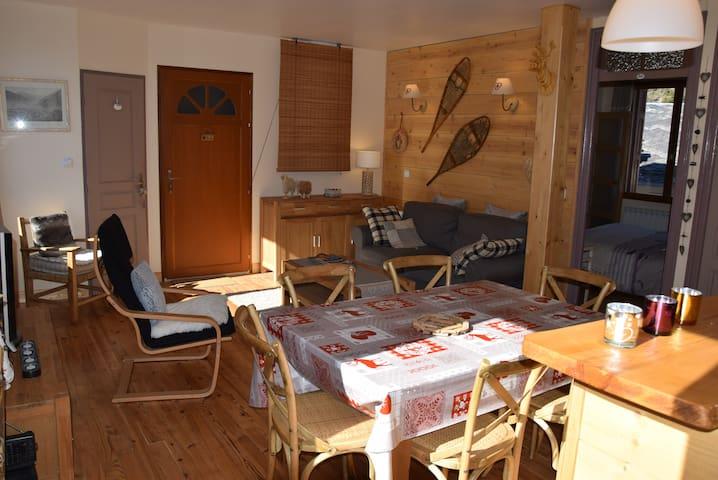 Charmant  appartement T3  en centre ville - Bagnères-de-Luchon - Apartemen