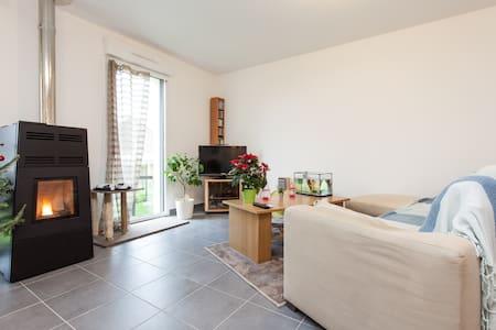 chambres sur jardin - Saint-Aubin-d'Aubigné