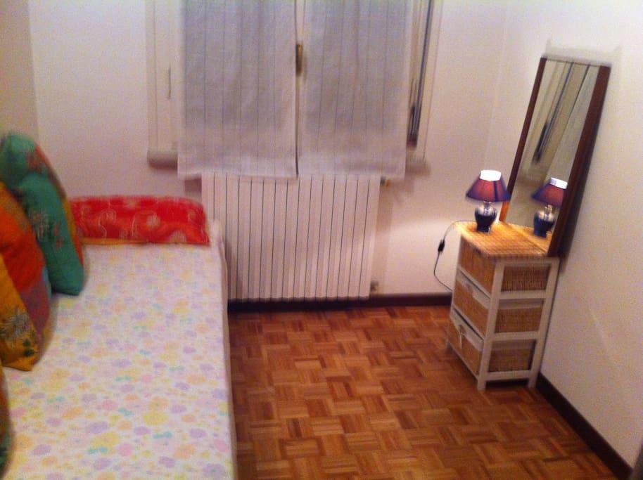 Camera da letto per un ospite