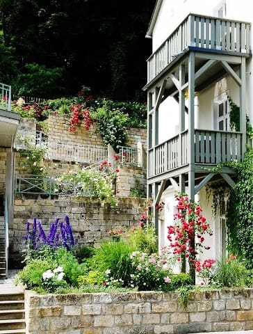 Gorgeous Saxon flat with balcony - Bad Schandau - Huoneisto