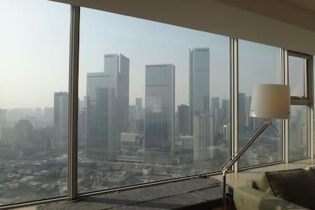 春熙路旁现代公寓,步行可到地铁站。距大慈寺太古里最近 - Chengdu