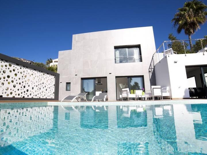 Villa Chic Romance, piscine chauffée 28°