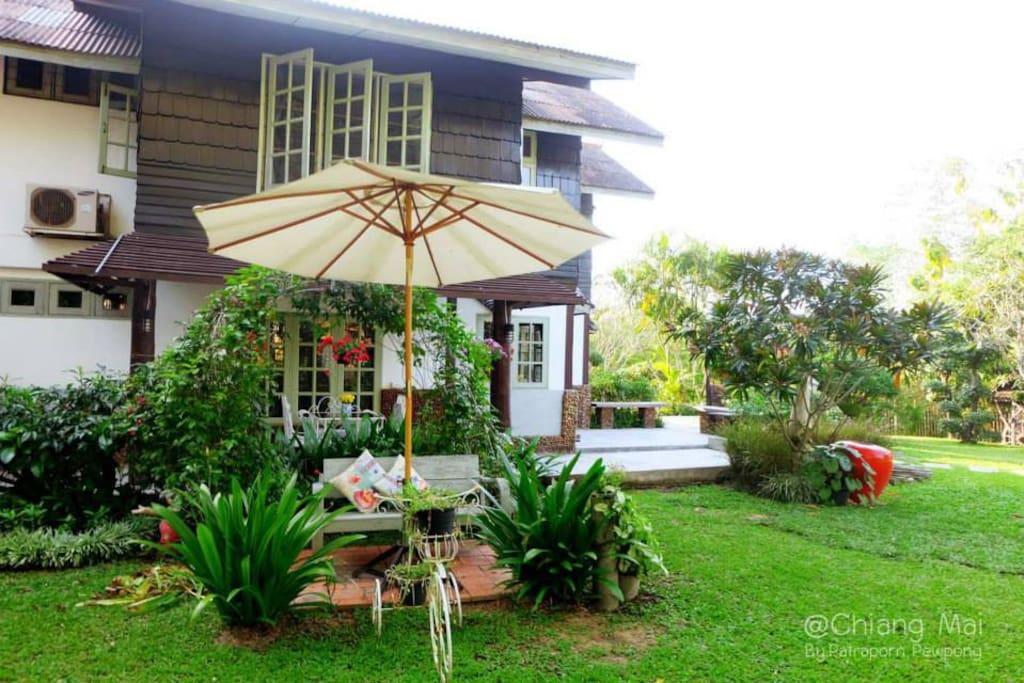 สวนสวยที่ บ้านผ่อดอย@WehoMe