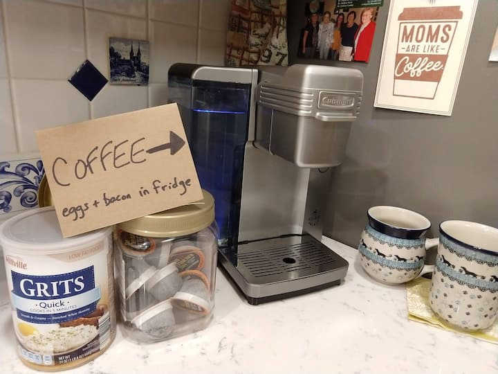 South Bend Sanctuary. Convenience, comfort, coffee