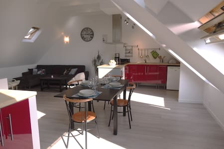 Duplex contemporain - Plovan - Townhouse