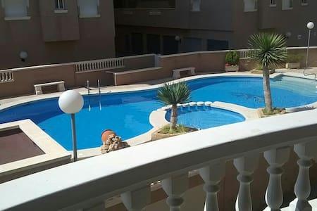 Ruhig gelegenes und gut geschnittenes Apartment - Santa Pola - Loft