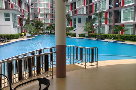 Studio Pattaya-East with large Pool - Pattaya - Daire