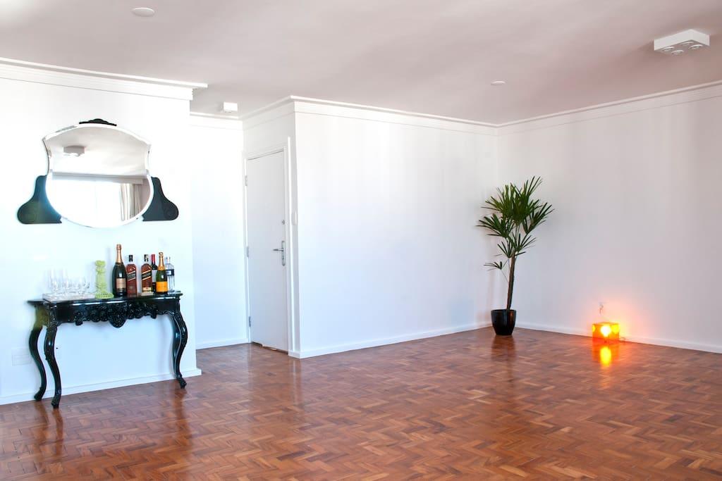 Private room and bathroom @Jardins!