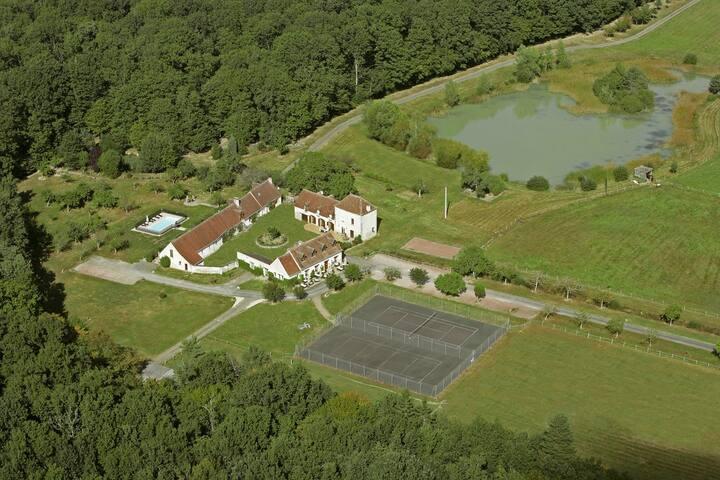 Gîte 2 pers, Châteaux of the Loire - Vallières-les-Grandes - Dům