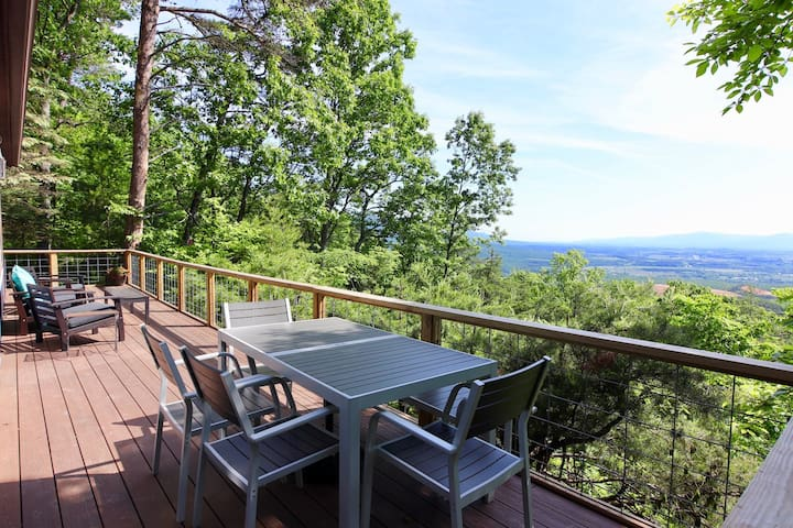 STUNNING views, TOTAL privacy!! 95 miles from DC
