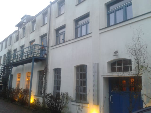Small little house, part of an old  noodle factory - Ober-Ramstadt - Guesthouse