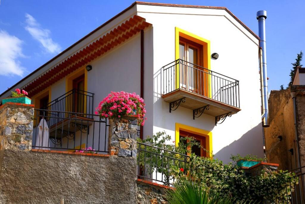 Balconi appartamento Mandarino