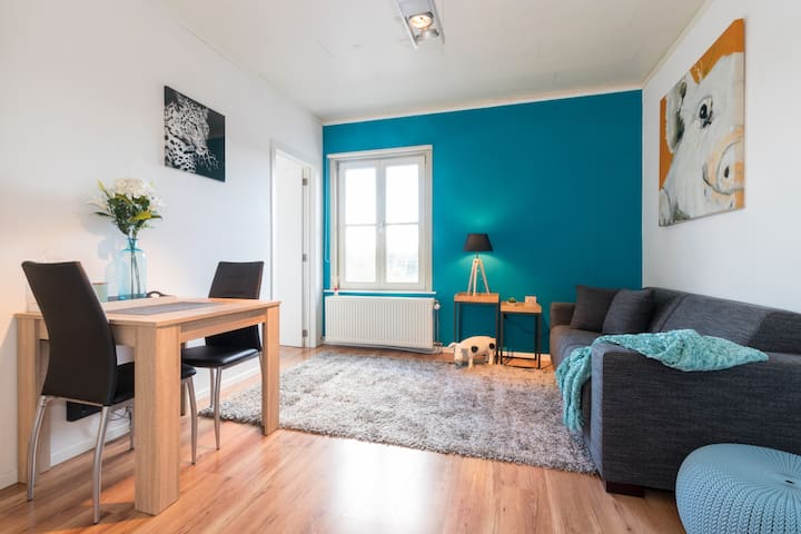 Quite studio with seperate bedroom in city centre - Ghent - Apartemen