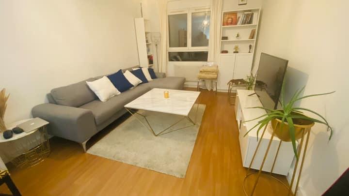 Appartement Chic Paris 20e