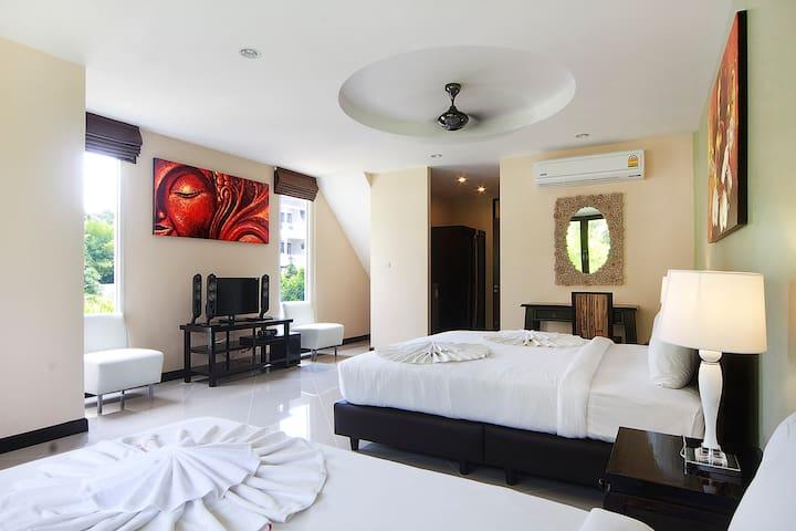 Garden View Studio (3p) in Resort