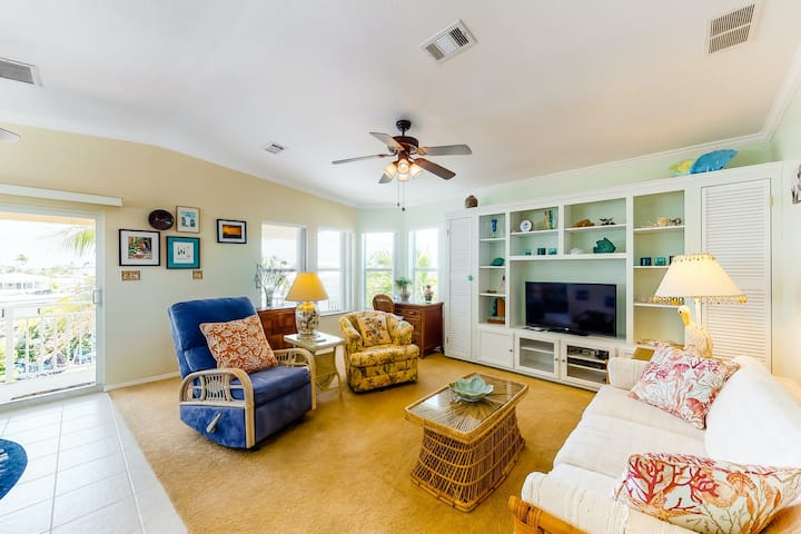 Dog-friendly resort community home w/ shared pool, hot tub, & tennis court!