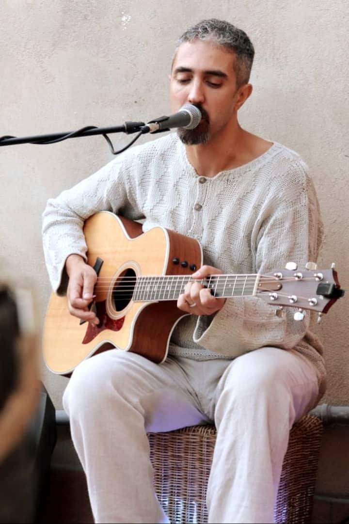 Performing songs
