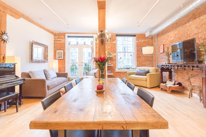 Authentic Loft - St Lawrence Market in old Toronto - Торонто - Лофт