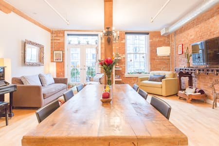 Authentic Loft - St Lawrence Market in old Toronto - Toronto - Loft