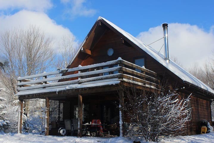 Chalet de bois au bord de l'eau - Roxton Pond - Haus