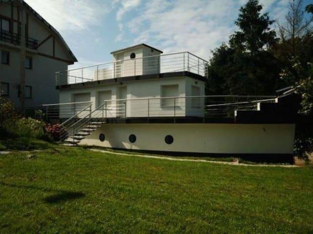 Fantástica casa barco - Pechón - Casa