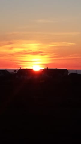 Stunning sunsets over Miltown Malbay and the Atlantic
