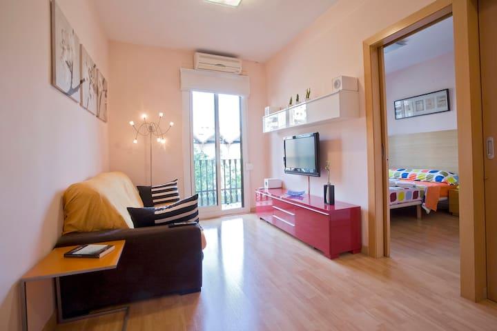 Confort 中心のアパート2室 -  WIFI