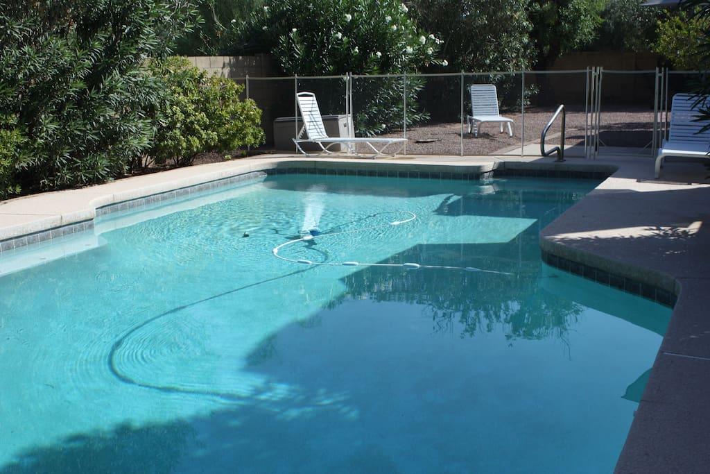 Private pool, HUGE heated 16 X 34 feet