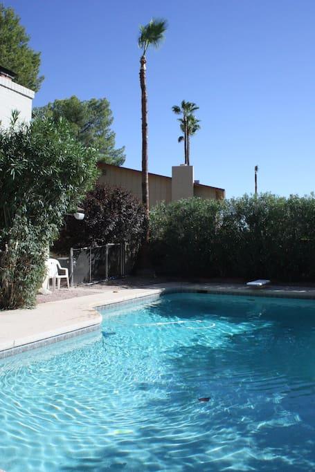 Private pool, HUGE 16 X 34 feet
