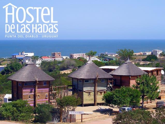Hostel de Las Hadas - Punta del Diablo - Szoba reggelivel