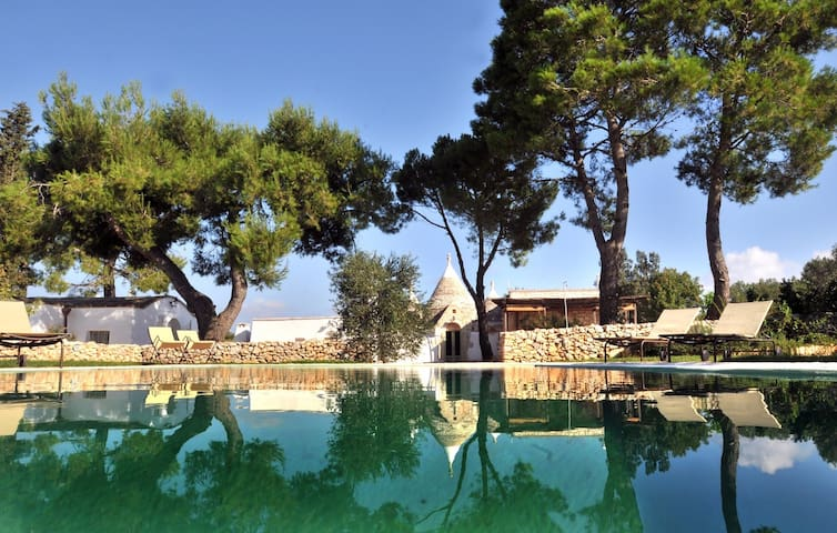 Trullo Amore Mio: Luxury Trullo Complex with Infinity Pool - Ceglie Messapica - Casa