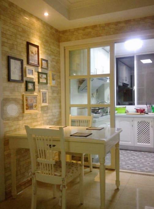 温馨浪漫的餐厅&厨房