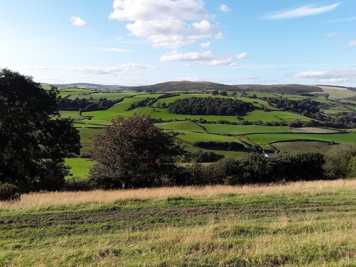 Maylord B&B working farm in rural Mid Wales