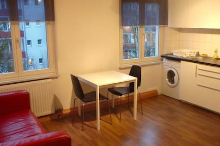 2 bed room apt with 4 beds - free parking (Ref F4) - Basel - Byt