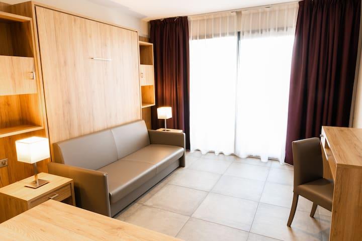 Appartement 4 personnes avec balcon