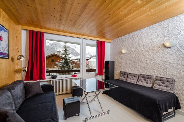Studio moderne Val d'Isère Centre