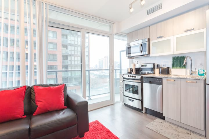 Brand New Condo in Downtown Toronto - Toronto - Apartament