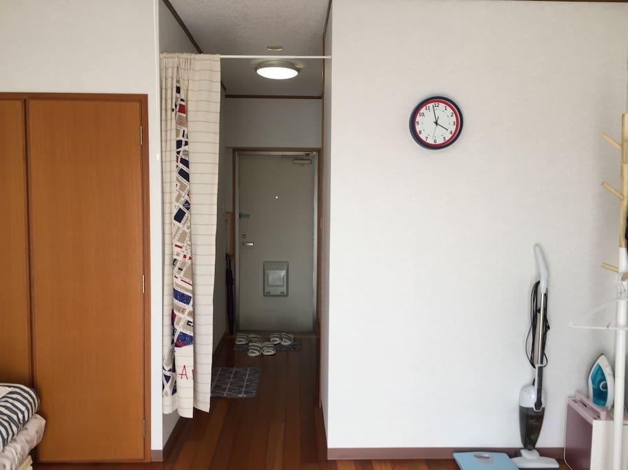 公寓 門口
