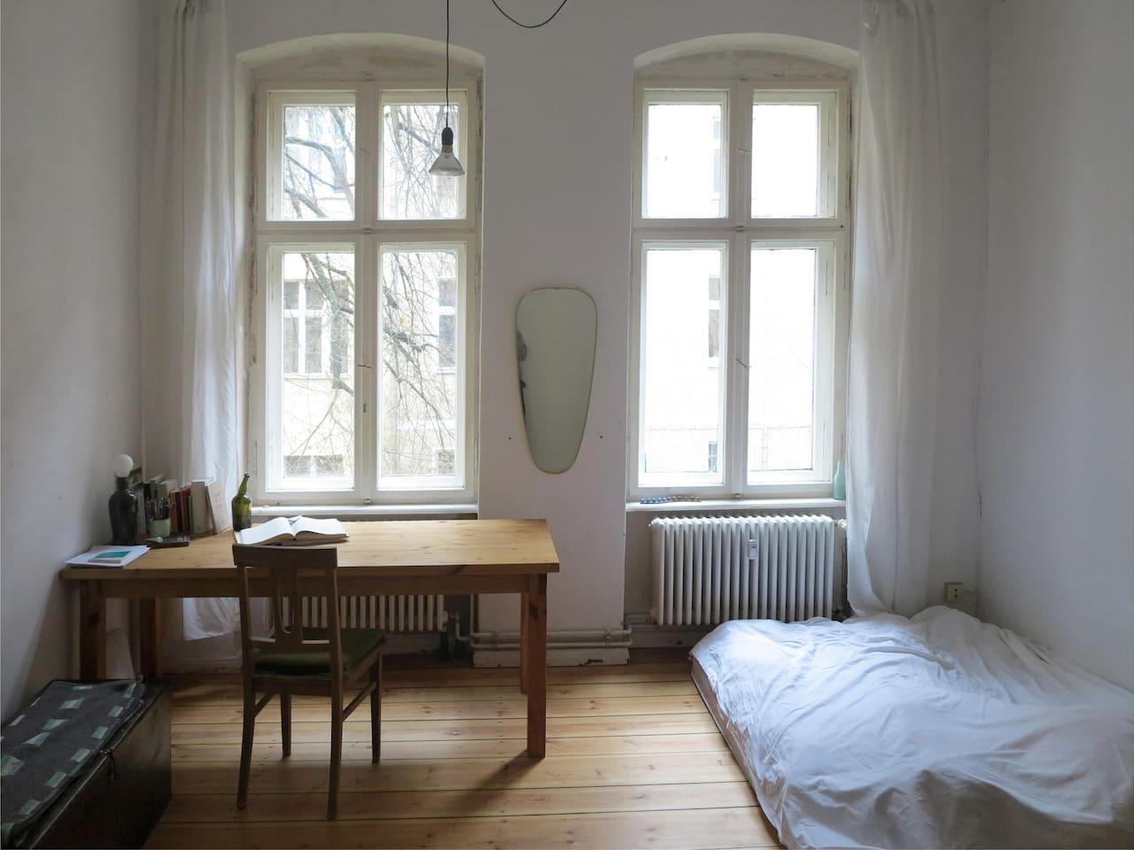 Sleeping- and Living-room