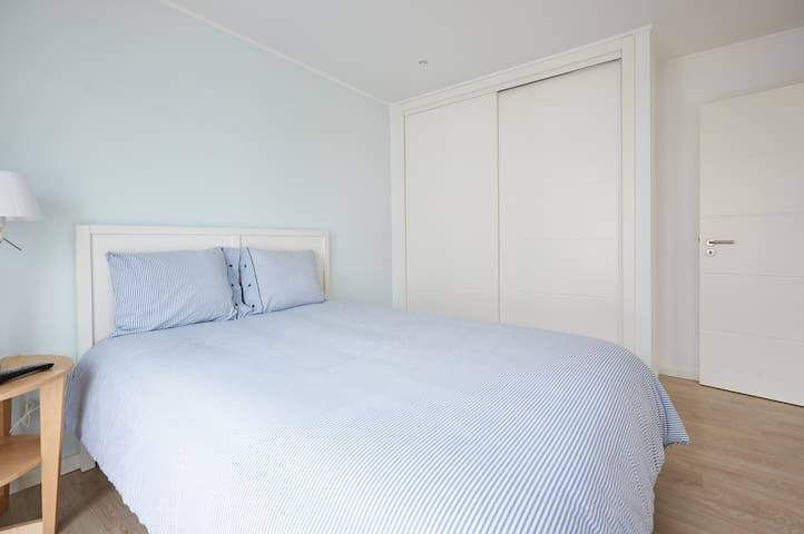 """First Floor: Double Bedroom """"Blue Room"""""""