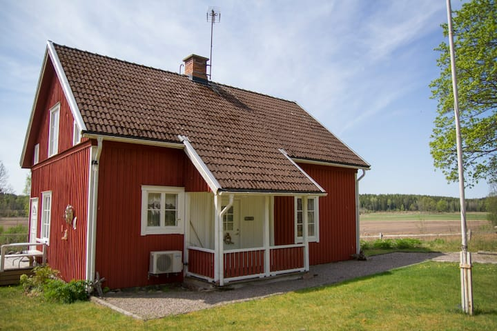 Ranger´s cottage at Målilla Älgpark!