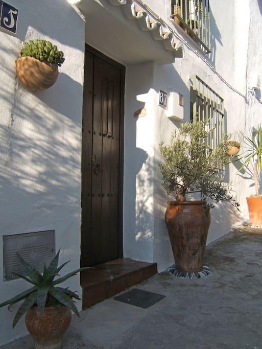 Eigener Hauseingang zum Casa Celia